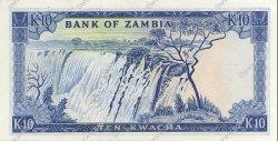 10 Kwacha ZAMBIE  1969 P.12c NEUF