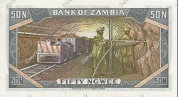 50 Ngwee ZAMBIE  1973 P.14a NEUF