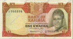 1 Kwacha ZAMBIE  1973 P.16a SUP