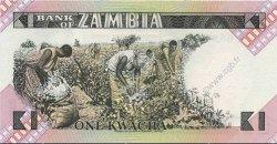 1 Kwacha ZAMBIE  1980 P.23a NEUF