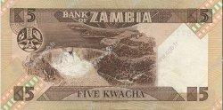 5 Kwacha ZAMBIE  1980 P.25d SUP