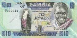 10 Kwacha ZAMBIE  1980 P.26d NEUF