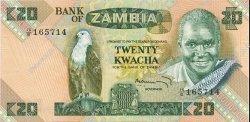 20 Kwacha ZAMBIE  1980 P.27c SPL+