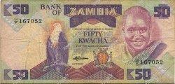 50 Kwacha ZAMBIE  1986 P.28a TB