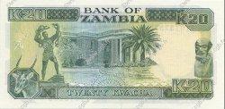20 Kwacha ZAMBIE  1989 P.32a NEUF