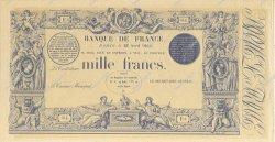 1000 Francs 1862 à la griffe bleue FRANCE  1863 F.A36.00 SPL