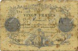 20 Francs 1871 FRANCE  1872 F.A46.03 B+