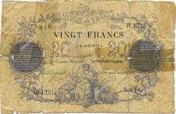 20 Francs 1871 FRANCE  1873 F.A46.04 AB