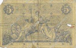 5 Francs NOIR FRANCE  1873 F.01.23 AB