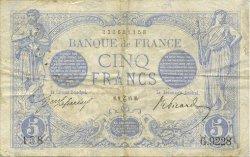 5 Francs BLEU FRANCE  1915 F.02.34 pr.TTB