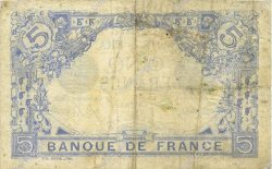 5 Francs BLEU FRANCE  1916 F.02.38 TB+