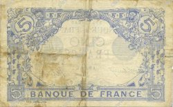 5 Francs BLEU FRANCE  1916 F.02.40 TB+