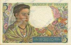 5 Francs BERGER FRANCE  1943 F.05.03 pr.NEUF