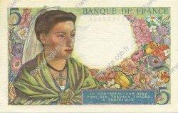 5 Francs BERGER FRANCE  1943 F.05.05 SPL+