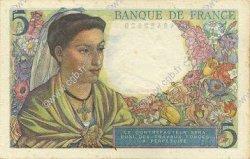 5 Francs BERGER FRANCE  1945 F.05.06 SUP à SPL