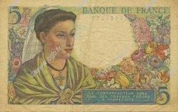 5 Francs BERGER FRANCE  1947 F.05.07 TB+