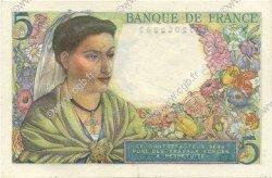5 Francs BERGER FRANCE  1947 F.05.07 SPL+