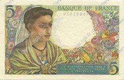 5 Francs BERGER FRANCE  1947 F.05.07a SPL