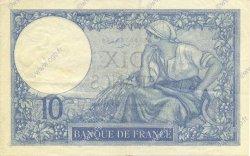 10 Francs MINERVE FRANCE  1928 F.06.13 SUP à SPL