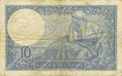 10 Francs MINERVE FRANCE  1930 F.06.14 TTB