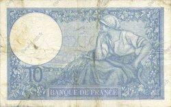 10 Francs MINERVE modifié FRANCE  1939 F.07.07