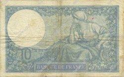 10 Francs MINERVE modifié FRANCE  1939 F.07.10 TB