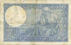 10 Francs MINERVE modifié FRANCE  1939 F.07.12 pr.TTB