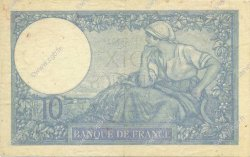 10 Francs MINERVE modifié FRANCE  1939 F.07.12 TTB