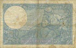 10 Francs MINERVE modifié FRANCE  1940 F.07.15 B