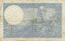 10 Francs MINERVE modifié FRANCE  1940 F.07.17 pr.TB