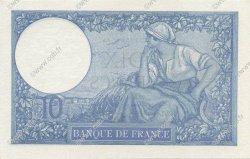 10 Francs MINERVE modifié FRANCE  1940 F.07.22 pr.SPL