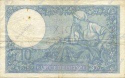 10 Francs MINERVE modifié FRANCE  1940 F.07.23 TTB