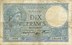 10 Francs MINERVE modifié FRANCE  1940 F.07.23 pr.TB