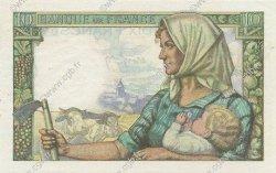 10 Francs MINEUR FRANCE  1942 F.08.04 pr.SPL