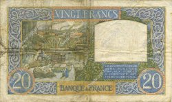 20 Francs SCIENCE ET TRAVAIL FRANCE  1941 F.12.13 pr.TTB