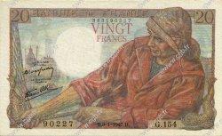 20 Francs PÊCHEUR FRANCE  1947 F.13.11 pr.NEUF