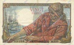 20 Francs PÊCHEUR FRANCE  1949 F.13.15 SUP