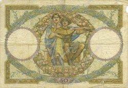 50 Francs LUC OLIVIER MERSON FRANCE  1930 F.15.04 B+