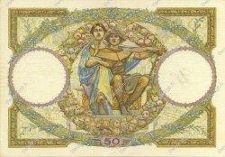 50 Francs LUC OLIVIER MERSON type modifié FRANCE  1932 F.16.03 SUP