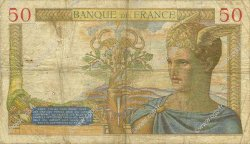 50 Francs CÉRÈS FRANCE  1935 F.17.19 B