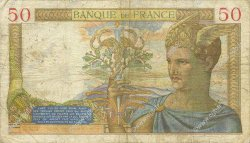 50 Francs CÉRÈS FRANCE  1935 F.17.20 B+