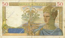 50 Francs CÉRÈS FRANCE  1936 F.17.23 pr.TTB