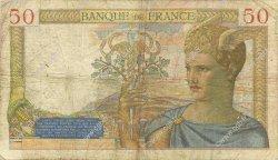 50 Francs CÉRÈS FRANCE  1936 F.17.23 B+