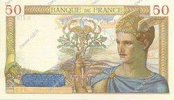 50 Francs CÉRÈS FRANCE  1936 F.17.24 SUP à SPL
