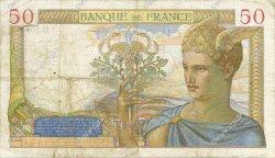 50 Francs CÉRÈS FRANCE  1936 F.17.30 TB