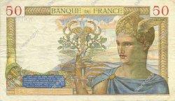 50 Francs CÉRÈS FRANCE  1937 F.17.38 TTB