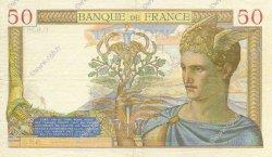 50 Francs CÉRÈS FRANCE  1937 F.17.39 TTB+