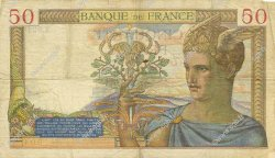 50 Francs CÉRÈS modifié FRANCE  1939 F.18.19 TB+
