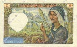 50 Francs JACQUES CŒUR FRANCE  1941 F.19.07 SUP