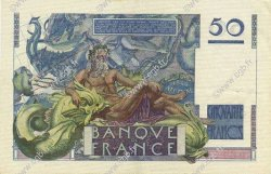 50 Francs LE VERRIER FRANCE  1946 F.20.01 SUP+